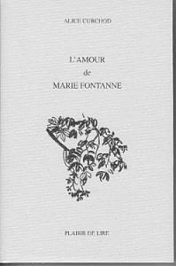 L'amour de Marie Fontanne, Curchod, Alice