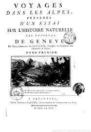 Voyages dans les Alpes : augmentés des voyages en Valais, au Mont Cervin et autour du Mont Rose, Saussure, Horace-Bénédict de