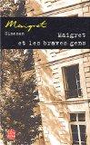 Maigret et les braves gens, Simenon, Georges