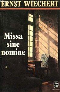 Missa sine nomine, Wiechert, Ernst