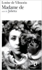 Madame de : roman, Vilmorin, Louise de