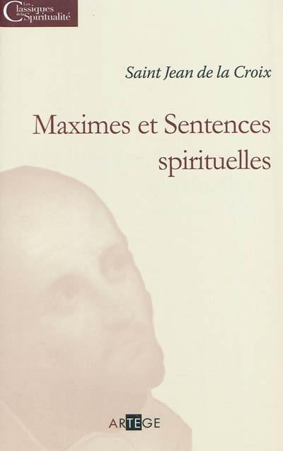 Oeuvres spirituelles : [Avis et maximes], Jean (de la Croix ; Saint)