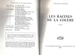 La cordée de l'espoir [3] : Les racines de la colère : roman, Métral, Maurice