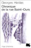 Chronique de la rue Saint-Ours, Haldas, Georges