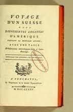Voyage d'un Suisse dans différentes colonies d'Amérique pendant la dernière guerre : avec une table d'observations météorologiques faites à Saint-Domingue
