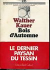 Bois d'automne : roman, Kauer, Walther
