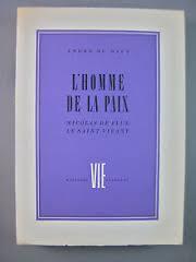 L'homme de la paix : Nicolas de Flue, le saint vivant, Du Bief, André