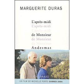 L'après-midi de Monsieur Andesmas : [récit], Duras, Marguerite