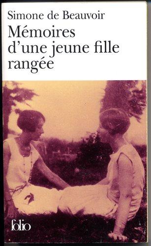 Mémoires d'une jeune fille rangée, Beauvoir, Simone de