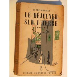 Le déjeuner sur l'herbe, Monnier, Thyde (1887-1967)