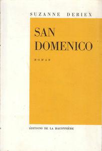 San Domenico : roman, Deriex, Suzanne