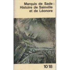 Histoire de Sainville et de Léonore, Sade, Donatien Alphonse François