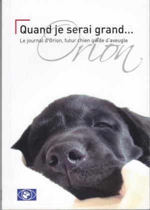 Quand je serai grand... : le journal d'Orion, futur chien guide d'aveugle, Johannot, Marc