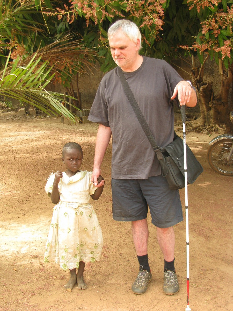 Du café de l'Ouest à Ouagadougou : croisière pour l'alphabétisation des enfants aveugles du Burkina Faso, Meyrat, Jean-Marc
