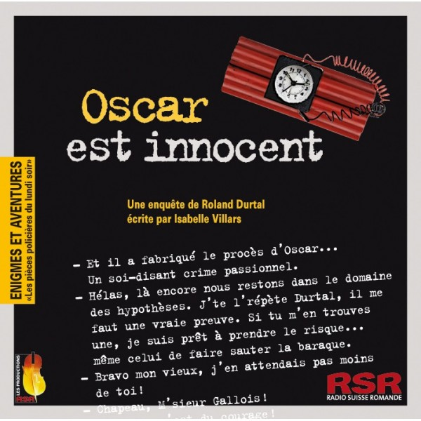 Oscar est innocent : une enquête de Roland Durtal, Villars, Isabelle