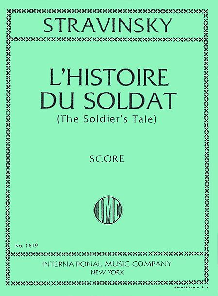 L'histoire du soldat : C.F. Ramuz parle ; Les trois poèmes de la lyrique japonaise ; Le chant des bateliers de la Volga, Stravinsky, Igor (1882-1971)