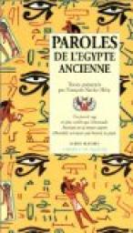 Paroles de l'Egypte ancienne, Héry, François-Xavier