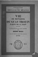 Vie de monsieur Du Guay-Trouin, écrite de sa main, Duguay-Trouin, René (1673-1736)