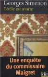 Cécile est morte, Simenon, Georges