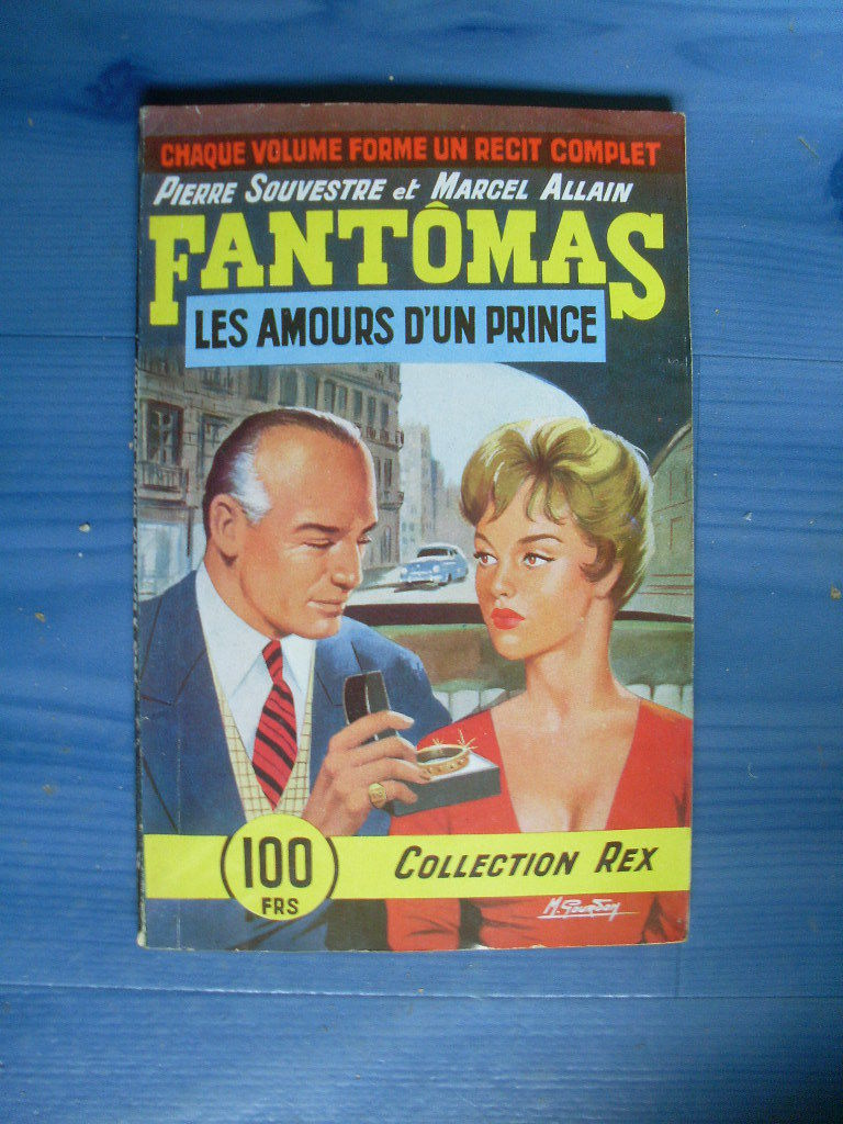 Fantômas [02] : les amours d'un prince, Souvestre, Pierre
