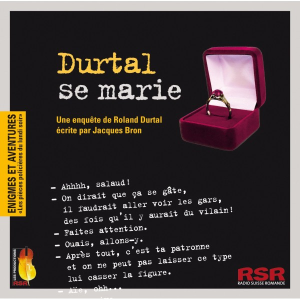 Durtal se marie : une enquête de Roland Durtal