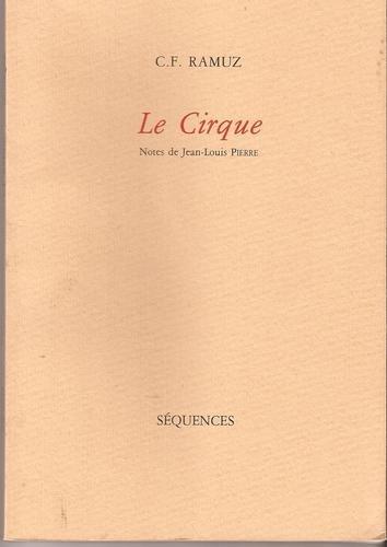 Le cirque, Ramuz, Charles Ferdinand