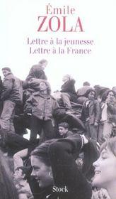 Lettre à la France, Zola, Émile