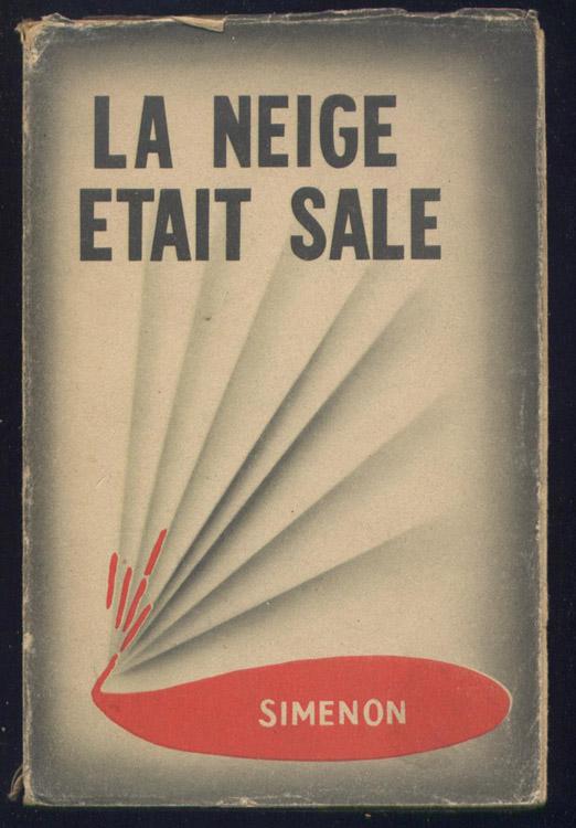 La neige était sale, Simenon, Georges