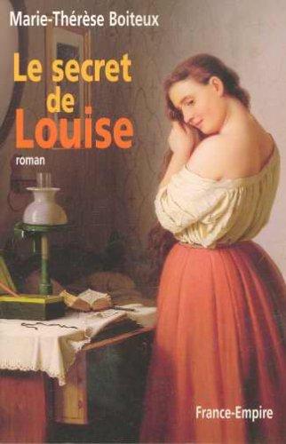 Le secret de Louise, Boiteux, Marie-Thérèse