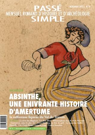 Passé simple : mensuel romand d'histoire et d'archéologie. N° 9, novembre 2015, Collectif