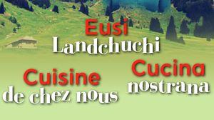 Cuisine de chez nous = Eusi Landchuchi = Cucina nostrana [saison 2] : [1] : [Sepp Dähler, Stein], Grossrieder, Sabine
