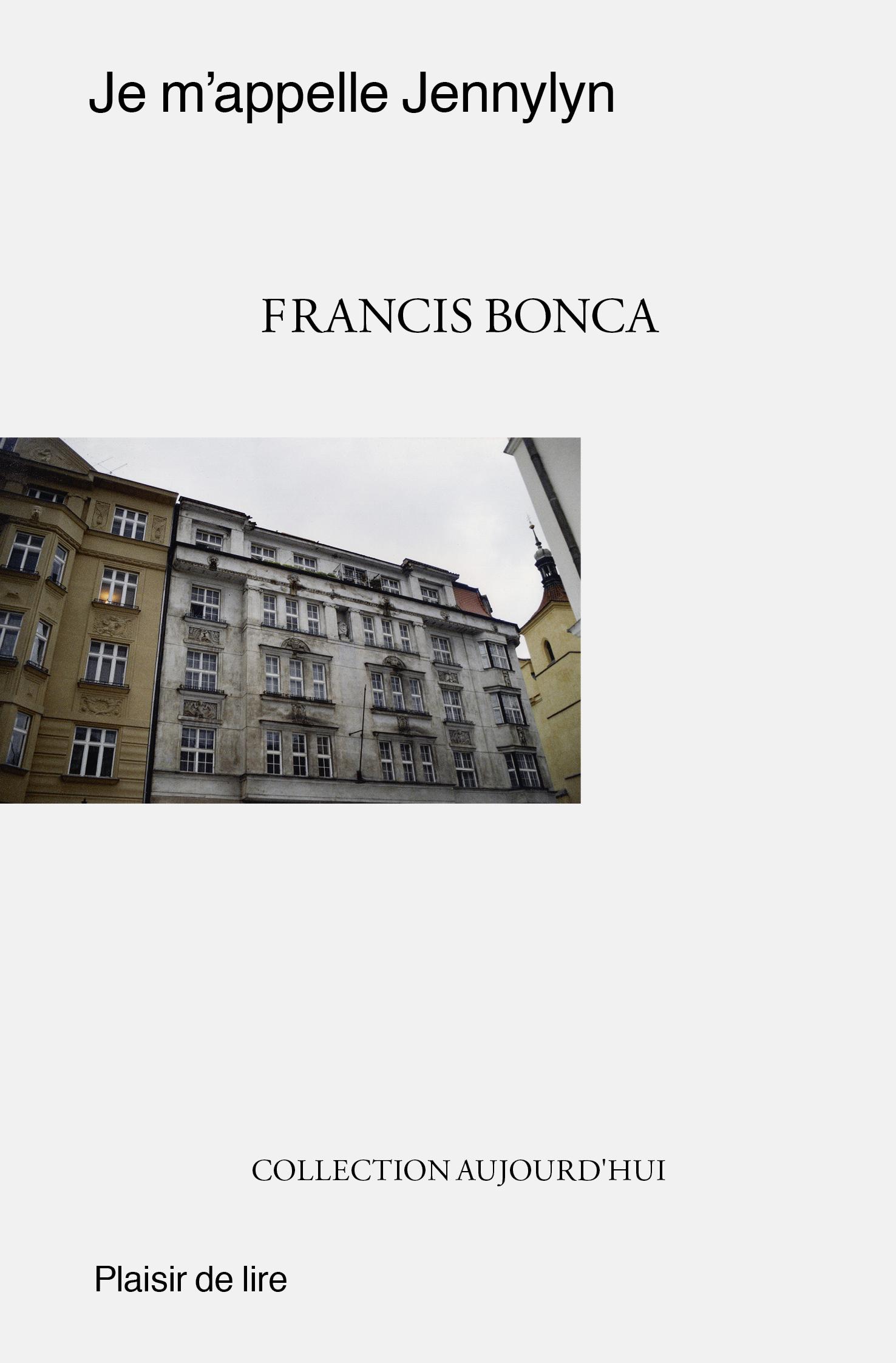 Je m'appelle Jennylyn : roman, Bonca, Francis