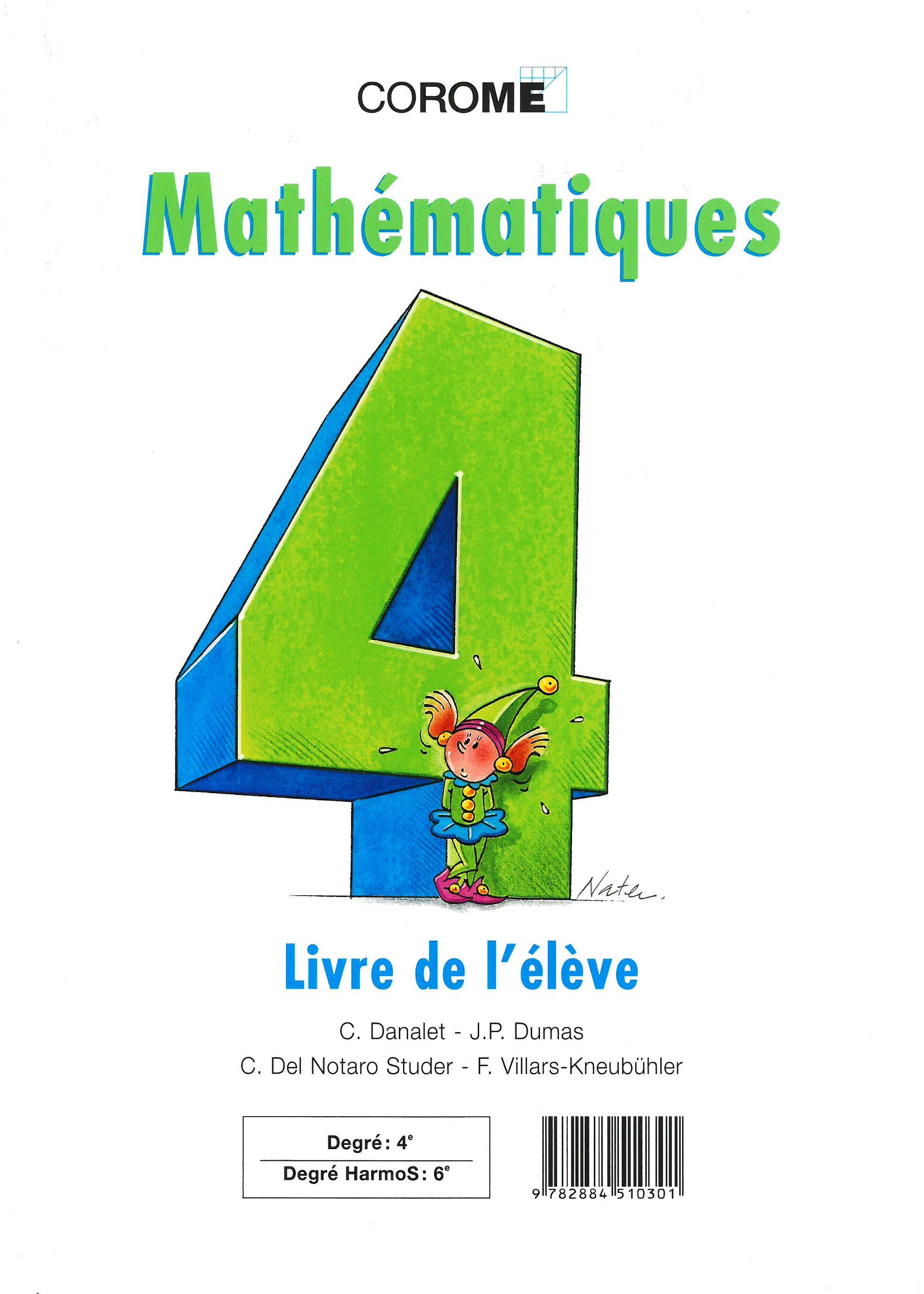 6H – Mathématiques – Livre de l'élève, Danalet, Claude