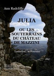 Julia ou les souterrains du château de Mazzini, Radcliffe, Ann