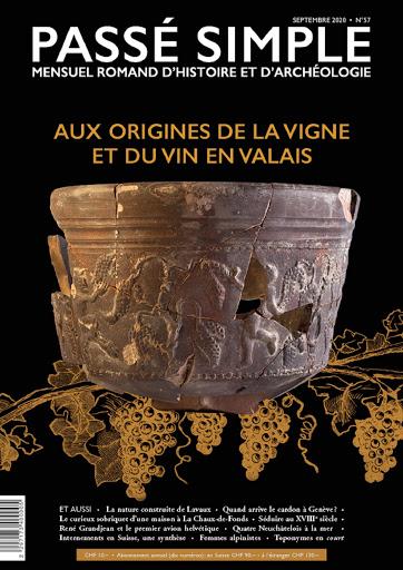 Passé simple : mensuel romand d'histoire et d'archéologie. N° 57, septembre 2020, Collectif