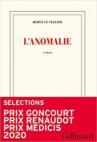 L'anomalie, Le Tellier, Hervé